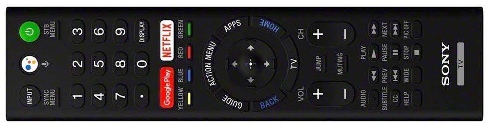 Sony A8F remote