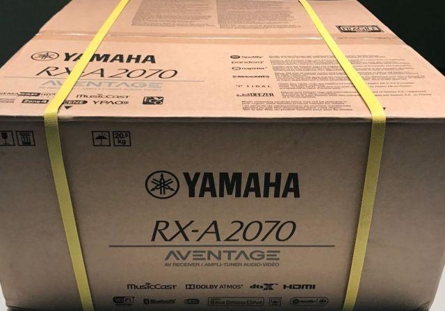 YAMAHA RX-A2070 box