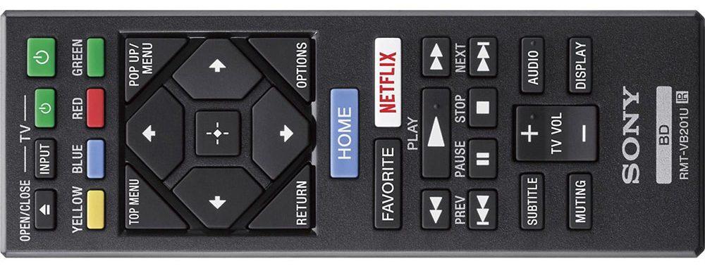 Sony UBP-X700 remote