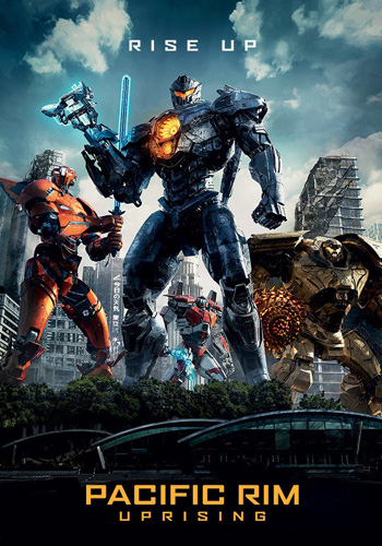 Pacific Rim: Uprising 2018 poster