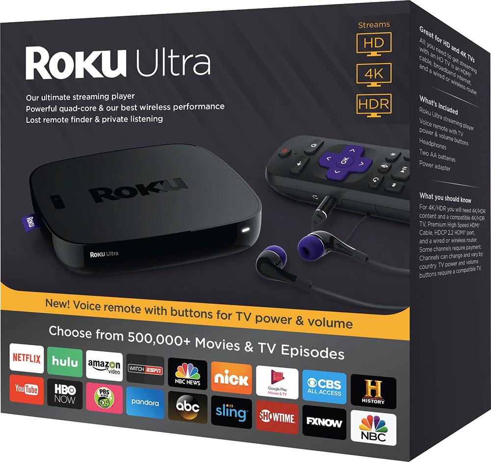 Roku Ultra 2017 box