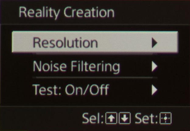 Sony VPL-HW45ES settings
