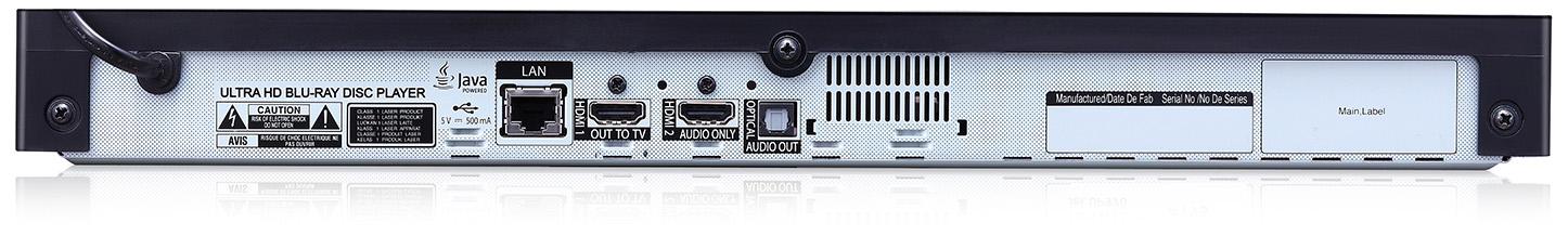 LG UP970 ports