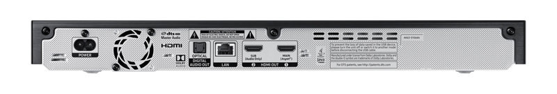 SAMSUNG UBD-M9500 connections