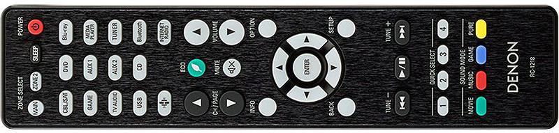 Denon AVR-X3400H remote