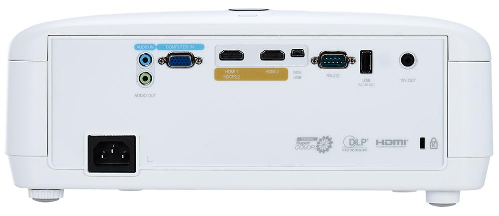 Viewsonic PX727-4K ports