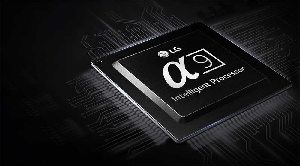 LG E8 OLED a9 processor