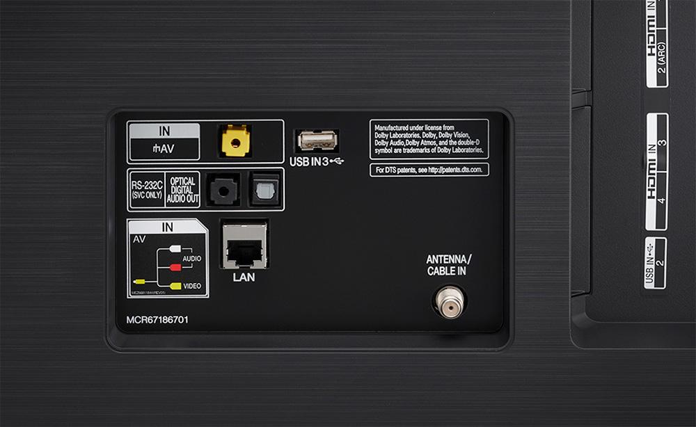 LG SK9000 / SK8500 ports