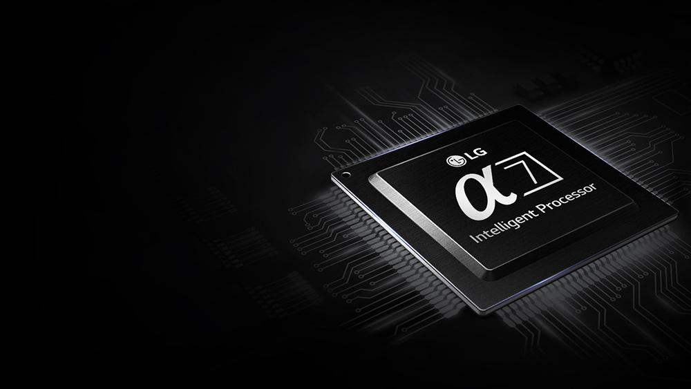 LG a7 processor