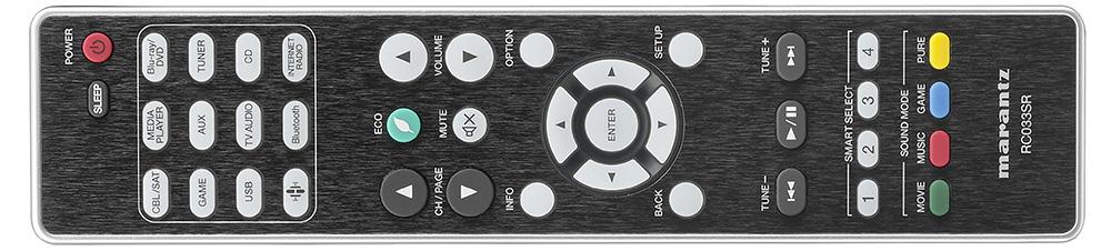 Marantz NR1509 remote