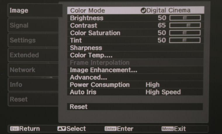 Epson Home Cinema 4010 / Pro Cinema 4050