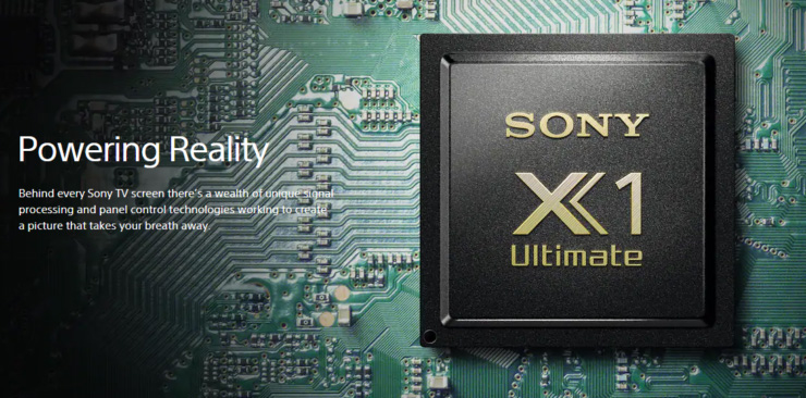 Sony X1 Ultimate processor