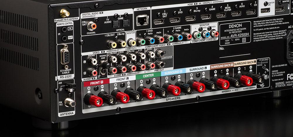 Denon AVR-X2500H