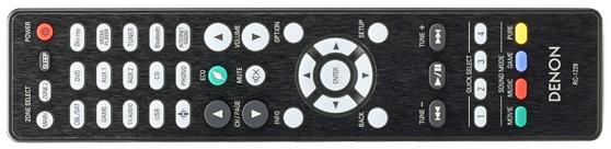 Denon AVR-X2500H remote