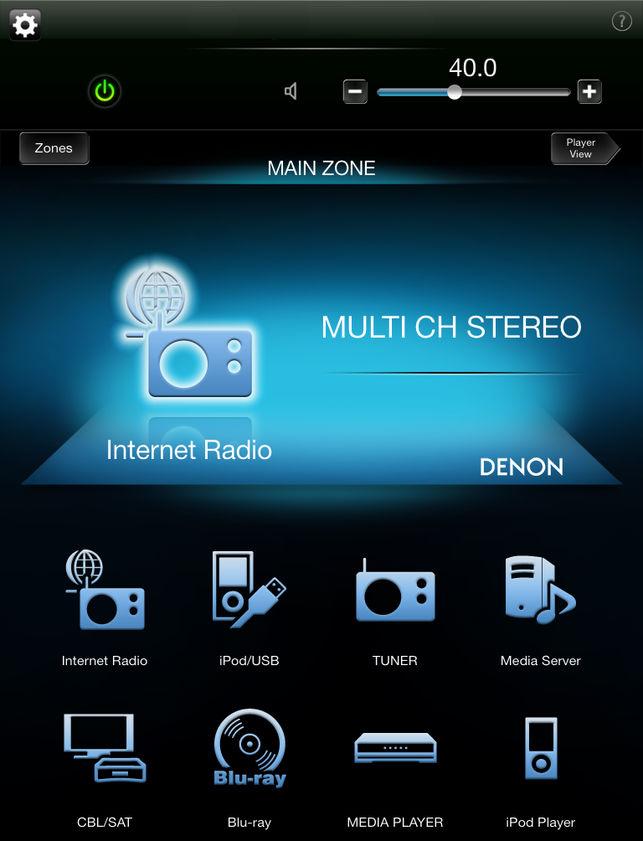 Denon AVR app