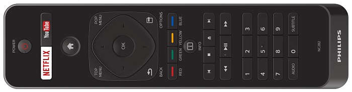 Philips BDP7502 remote