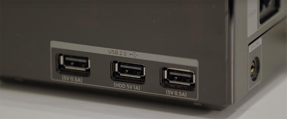 Samsung Q90R One Connect Box