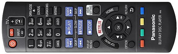 Panasonic DP-UB820 remote