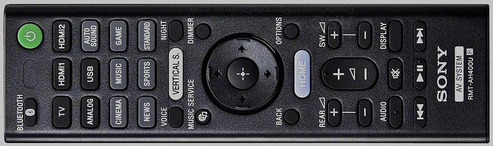 Sony HT-Z9F remote