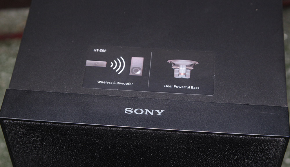 Sony HT-Z9F subwoofer