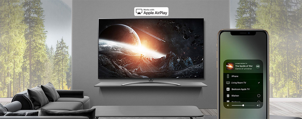 LG SM9000 Airplay