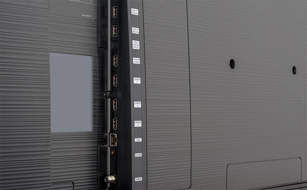 Samsung RU8000 ports