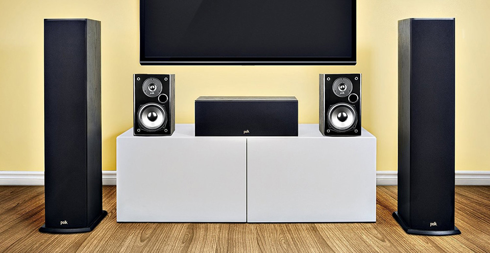 Polk Audio T50 floorstanding speakers