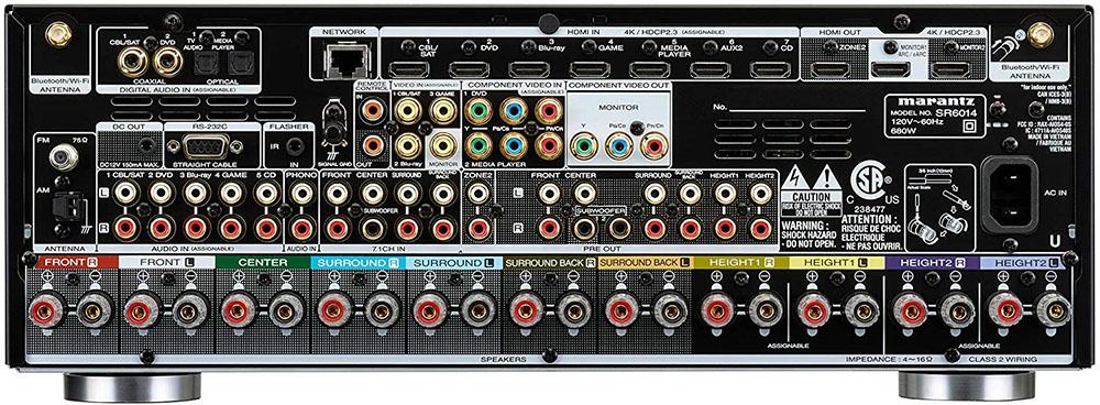 Marantz SR6014 Review (9.2 CH 4K AV Receiver)