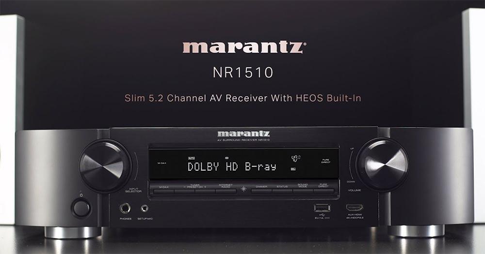 Marantz NR1510 Review (5.2 CH 4K AV Receiver)