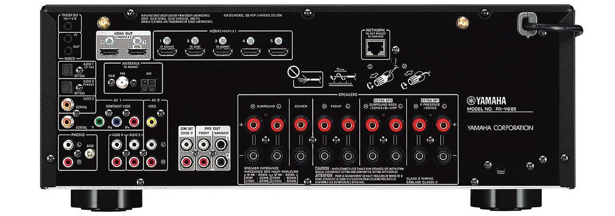 Yamaha RX-V685 Review (7.2 CH 4K AV Receiver)