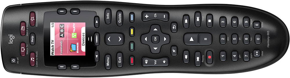 Logitech Harmony 665 Review (Universal Remote)
