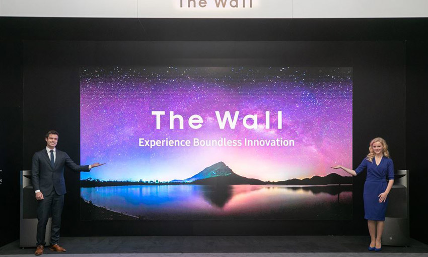 Samsung TVs for 2020 - The Wall