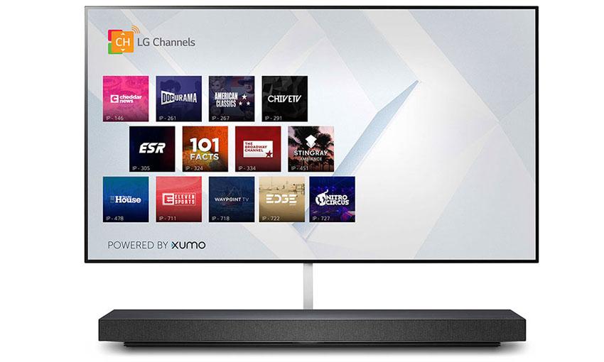 LG TVs for 2020 - LG WX