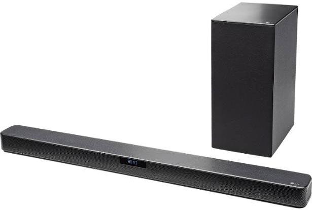 LG SN5Y Review (2.1 CH Soundbar)