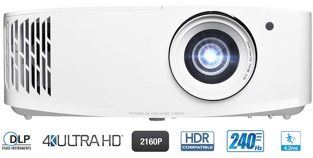Optoma UHD35 Review (4K DLP Projector)